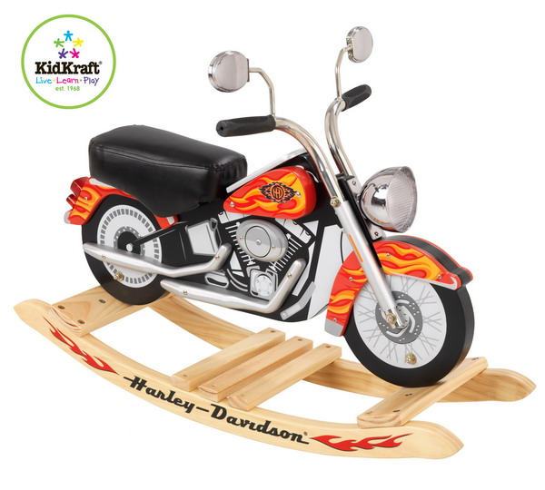 Motorcycle Toys For Boys : New harley davidson toy motorcycle rocking horse boys bike