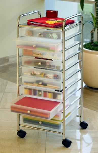 New Scrapbook Supplies Storage Cart Crafts Amp 12 Quot X12