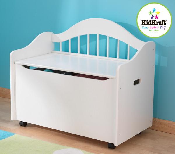new white wood kids toy box wooden wood storage chest ebay. Black Bedroom Furniture Sets. Home Design Ideas