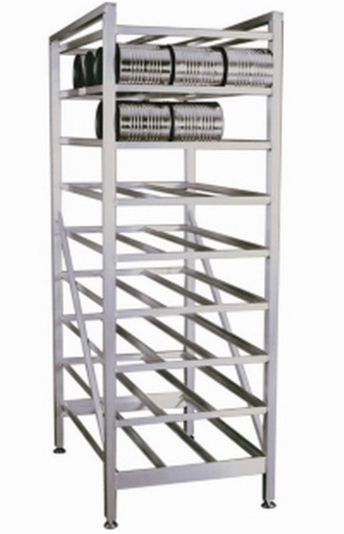 New Huge Can Storage Rack Industrial Commercial Kitchen Shelving Nsf 71 Tall Ebay