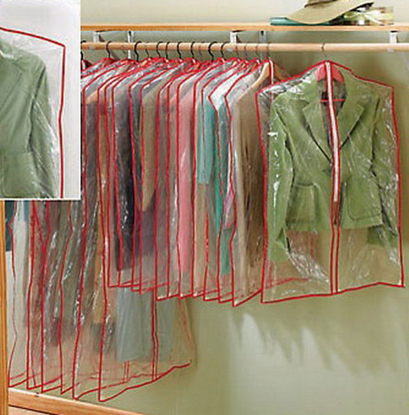 20 New Clear Plastic Garment Bags Clothing Covers Ebay