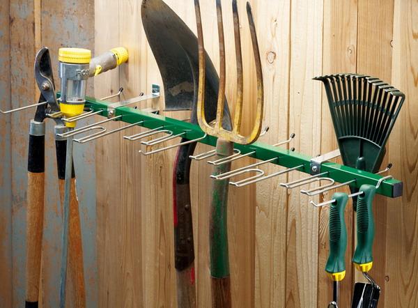 New 38 Wall Mounted Garden Tool Rack Organizer Garage Shed Storage