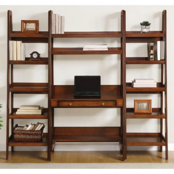 together with Corner Ladder Shelf. on ladder style desk with shelves