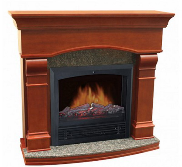 New Electric Fireplace With 47 Classic Mantle 1250 Watt Space Room Heater Ebay