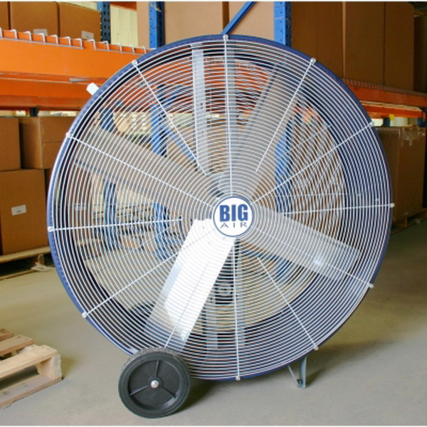 Industrial Size Fans : New giant quot diameter industrial size barrel fan gym