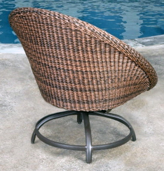 New Papasan Chair Awesome Large Artificial Wicker Outdoor Seating Green Cushi