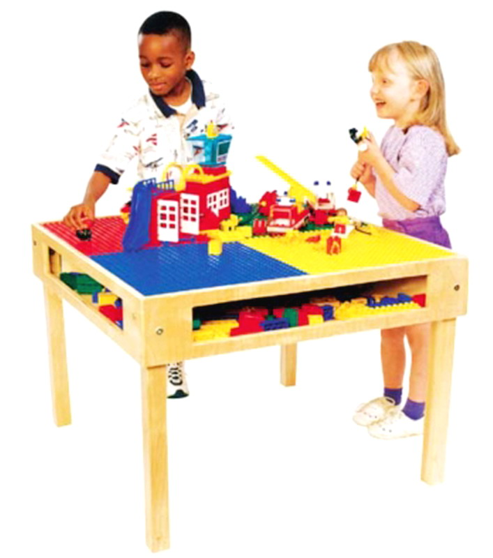 New Kids Wood Lego Table Toy Blocks Building Activty Center 32 x 32&quo -> Table Range Lego