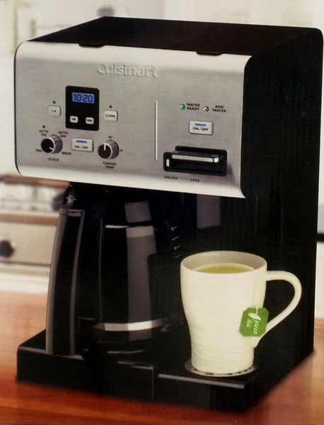 Cuisinart Coffee Maker Hot Water Dispenser : New Cuisinart 12-Cup Programmable Coffee Maker & Hot Water Dispenser eBay