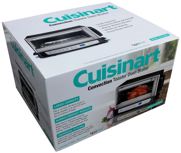New Cuisinart Stainless Convection Broiler Toaster Oven Ebay