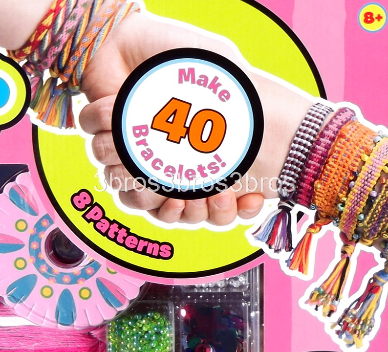 Friends Bands Friendship Bracelet Making Kit 2 Looms & 30 Colors