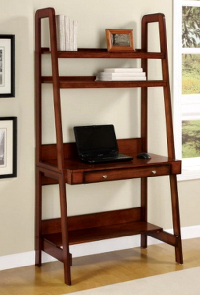 ladder shelf desk plans