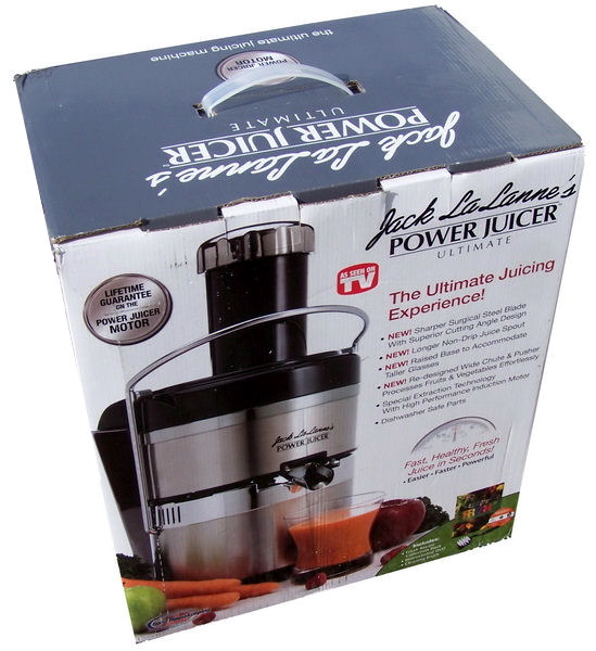 New Ultimate JACK LALANNE Stainless Steel POWER JUICER eBay