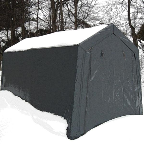 Lawn Mower Shelter : New big all season storage canopy garage shelter