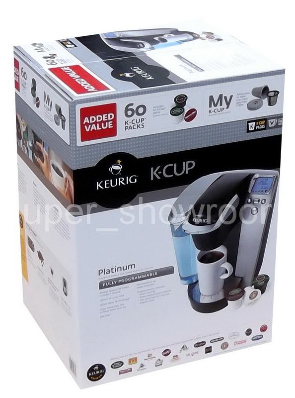 Keurig Coffee Maker Problems No Water : New Keurig Platinum B70 Single Serve Coffee Maker & Tea Brewer Machine 60 K Cups eBay