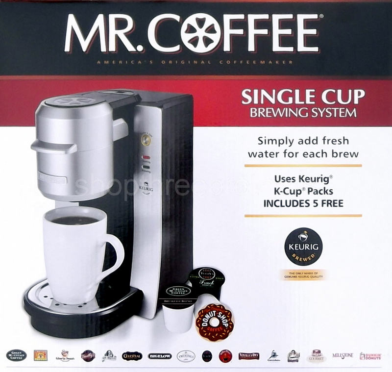 Single Cup Coffee Maker For Keurig K Cups By Mixpresso : New Mr. Coffee Single Serve Coffee Maker Keurig K-Cup Brewing System Machine eBay