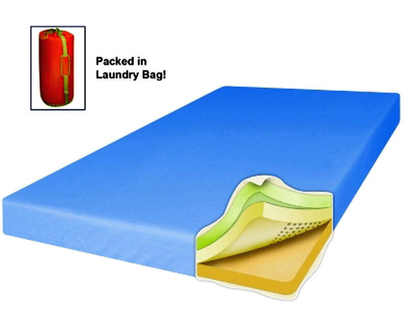 Serta Triple Layer Comfort 4 Inch Memory Foam Mattress