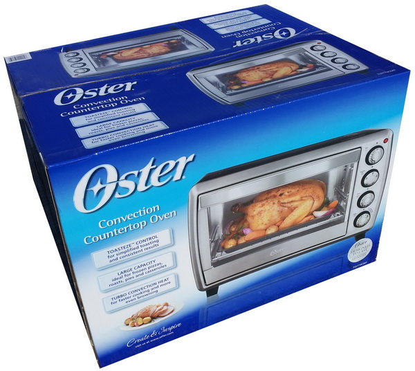 Oster Countertop Convection Oven Tssttvf817 : ... Oster Convection Countertop Oven with Turbo Convection Heat Technology