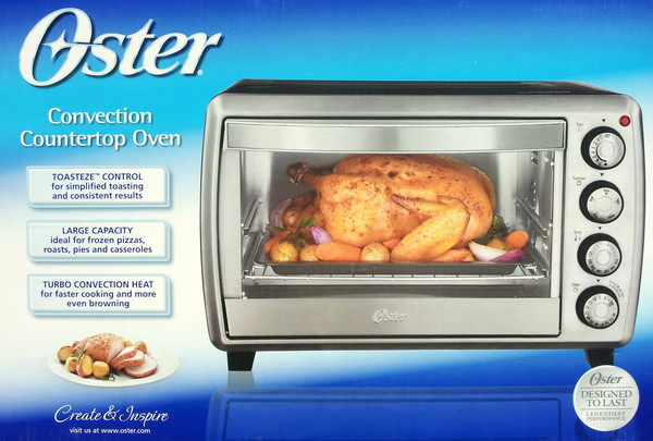 Oster Countertop Oven With Convection Technology : Oster Convection Countertop Oven with Turbo Convection Heat Technology ...