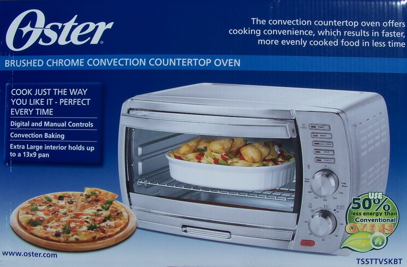 New Oster Convection Toaster Oven Brushed Chrome Ebay