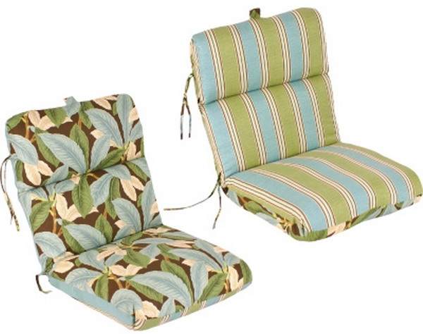 patio chair seat cushion reversible outdoor furniture 22 x44 x5
