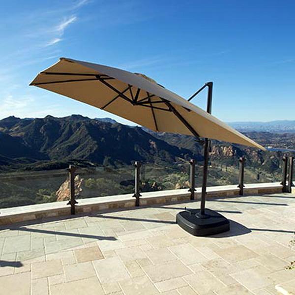 New Portofino Signature Resort Umbrella 10 X10 Sunbrella