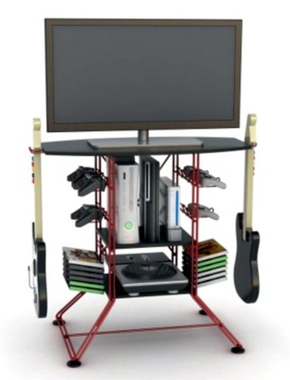 New Steel Video Game Storage Rack Amp 36 TV Stand Xbox 360
