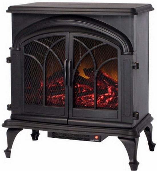 new large electric fireplace stove heater standing 1 350