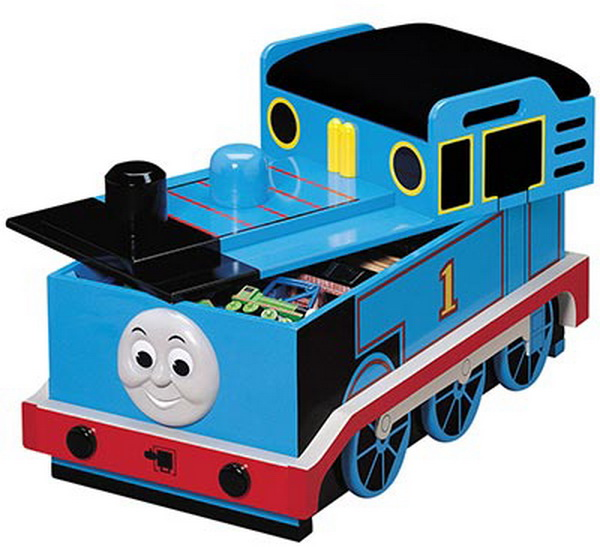 thomas train toy box plans