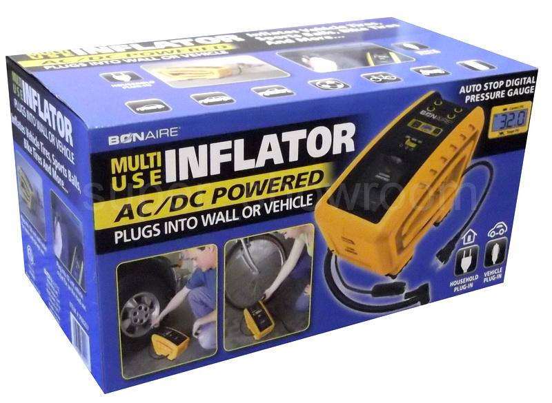 New Multi Use 12v Ac Dc Portable Electric Pump Compressor