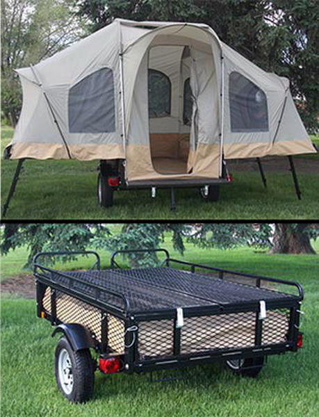 New 6 Person Camping Tent Trailer Lifetime Camper Lifetime