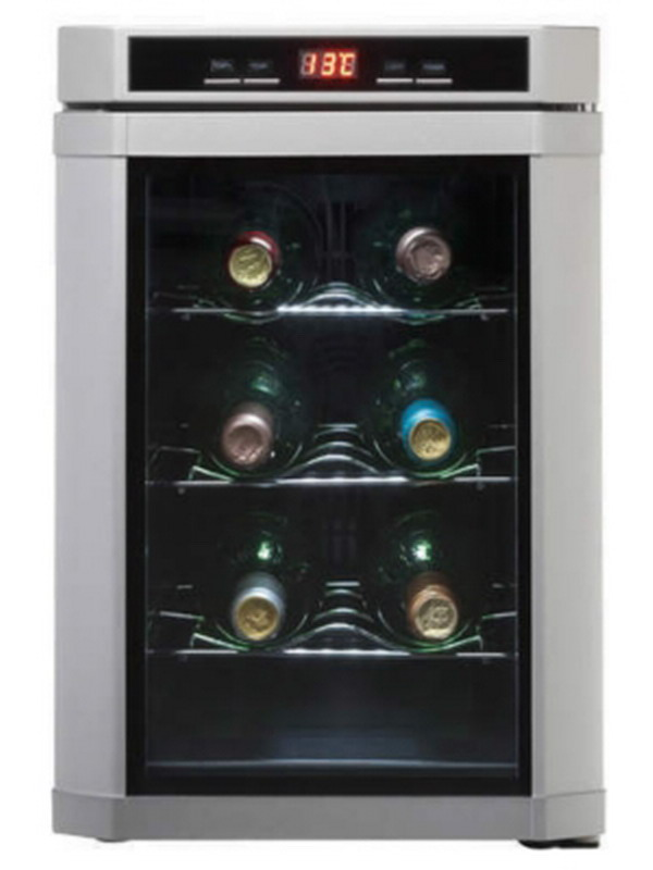 New 3 Shelf Wine Cooler Danby Maitre D 6 Bottle Fridge Led