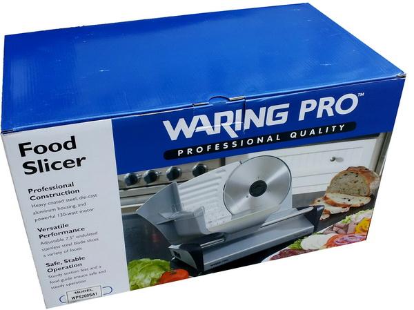 waring pro food slicer manual