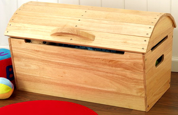 diy wooden toy box with lid | Quick Woodworking Projects