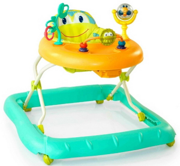 New Baby Walker Bright Starts Walk A Bout Mobile Baby Toys 6 Months to